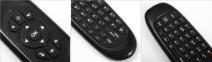 Беспроводная Мышь с клавиатурой HUAYU G64L TK668 2.4 ГГц QWERTY клавиатурой 0