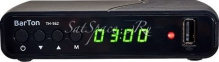 Цифровой эфирный приемник BarTon TH-562 Триколор ID в комплекте 3