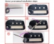 Корпус брелка + смарт ключ StarLine A92, A94, A95, V63, T94 4