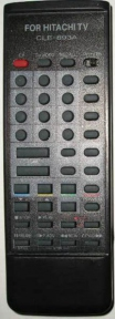 Пульт CLE-893A CH. (TV/VID) для телевизора HITACHI