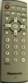 Пульт EUR7717060R оригинальный для телевизора PANASONIC