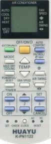 Пульт Huayu K-PN1122 универсал для сплитсистем марки Panasonic