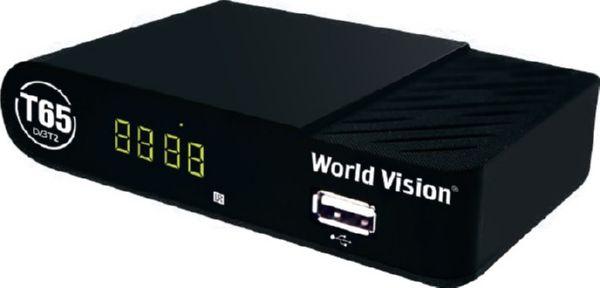 Ресивер эфирный World Vision T65