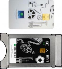 Модуль CAM CI+ НТВ+ и Карта доступа 3000 рублей
