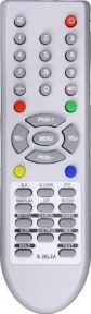 Пульт S-26L2A TV, ONIKS 26L16, ERISSON 26LS16 для телевизора SUPRA