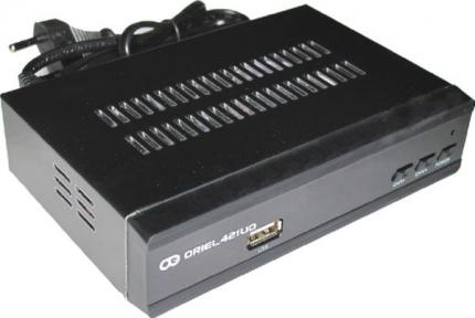 Ресивер эфирный Oriel 421UD DVB-T2/C