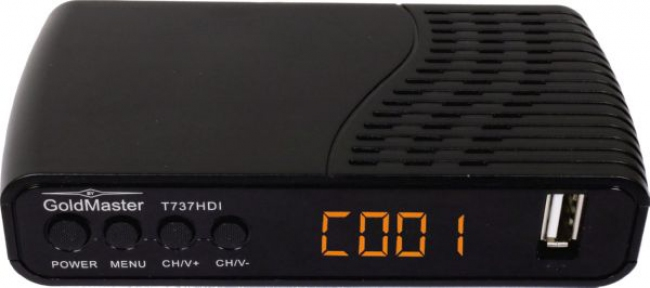Комбинированный тюнер GoldMaster T-737HDI DVB-T2/C