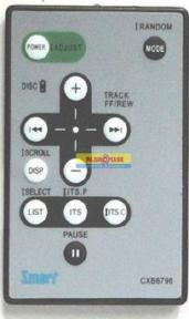 Пульт CXB6798 для автомагнитолы PIONEER