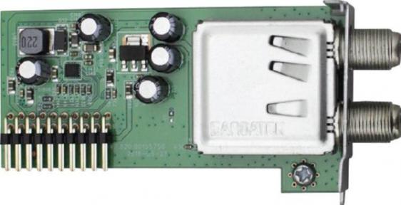 Тюнер одиночный DVB-S2 для AX (Opticum) 4K HD51