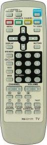 Пульт RM-C1171 (TV) для телевизора JVC