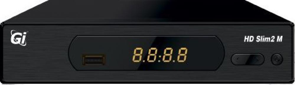 Ресивер GI HD Slim 2M, 2xUSB WI-FI в комплекте