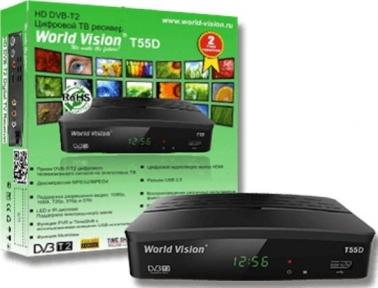 Ресивер эфирный World Vision T55D