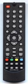 Пульт DVB-T2 GL60 для эфирных ресиверов GLOBO