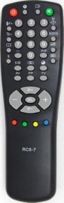 Пульт RC-6-7 для телевизора HORIZONT