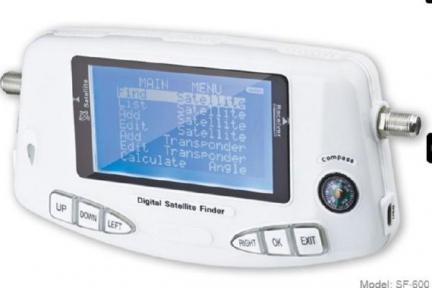 Измерительный прибор Sat-Finder Prof SF-600