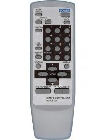 Пульт RM-C364GY для телевизора JVC белый