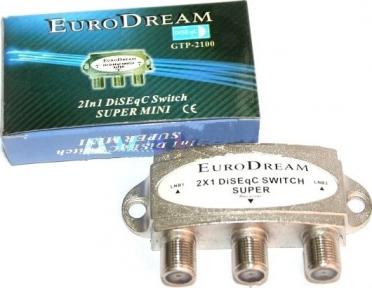 DiSEqC переключатель EuroDream GTP-2100