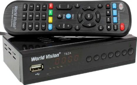 TV-тюнер World Vision T62A Т2/С обучаемый пульт