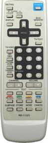 Пульт RM-C1023 TXT box as orig. для телевизора JVC