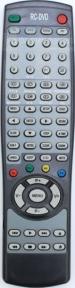 Пульт RC-DVD STC-2109F, SAGA TVD-2143PF для телевизора HORIZONT