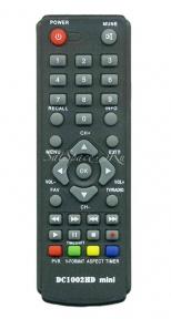 Пульт DC1201HD DVB-T2 для эфирных ресиверов D-COLOR
