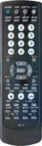 Пульт RC 15 DVD для видеотехники BBK