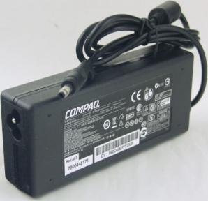 Блок питания для ноутбука COMPAQ 18,5V 4,9A + сетевой кабель