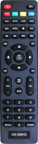 Пульт DS-530HD, DS-910HD для ресивера Delta Systems