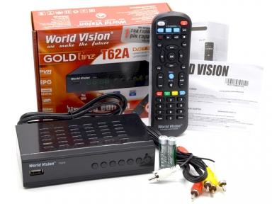 Ресивер эфирный World Vision T62A Т2/С Б/У