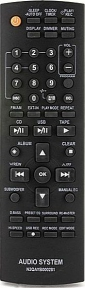 Пульт N2QAYB000281 AUDIO для телевизора PANASONIC