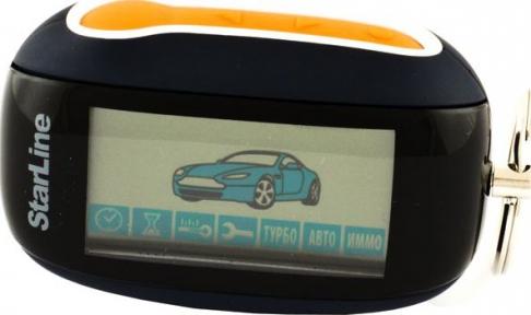 Брелок к автосигнализации LCD StarLine B94