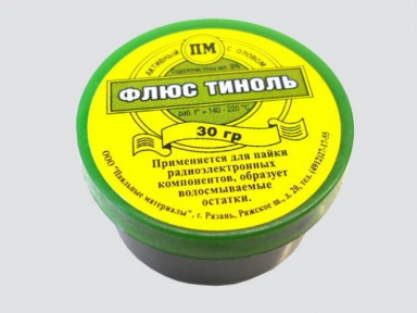 Флюс Тиноль 30 гр. баночка