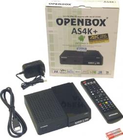 Спутниковый ресивер Openbox AS4K+ Multi Stream
