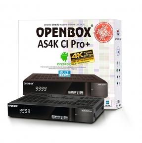 Спутниковый ресивер Openbox AS4K CI Pro+