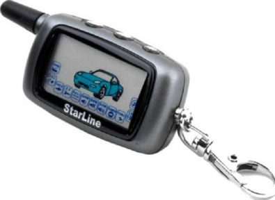 Брелок к автосигнализации LCD StarLine A6