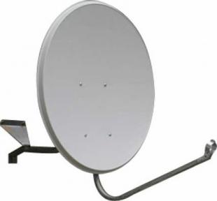 Антенна спутниковая 0.6 м, кронштейн