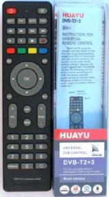 Пульт HUAYU для ресиверов DVB-T2+3 версия 2018 г.