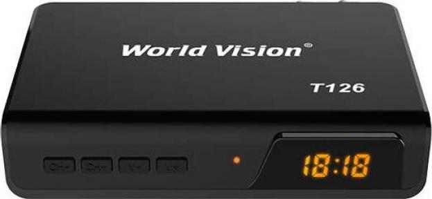 Ресивер эфирный World Vision T-126