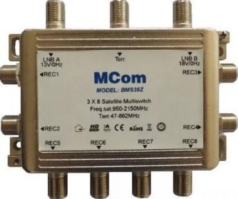 Мультисвитч пассивный MCom BMS-38Z