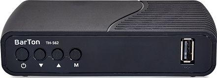 Цифровой эфирный приемник BarTon TH-562 Триколор ID в комплекте