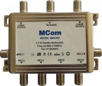 Мультисвитч пассивный MCom BMS-36Z