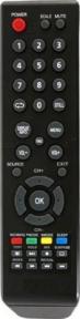 Пульт LTA-15A15M, LE-19A08G, SUPRA RC10W, ROLSEN 19L1005U, HYUNDAI H-LED39V25 для телевизора AKAI