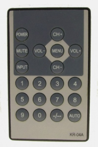 Пульт KR-04A для телевизора PROLOGY, MYOTA