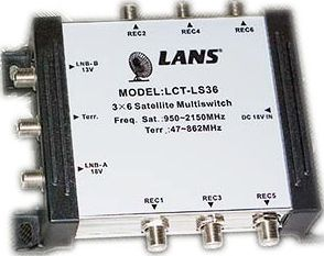 Мультисвитч Lans LCT-LS 36