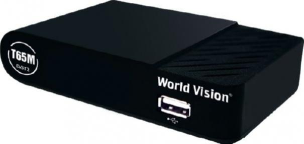 Ресивер эфирный World Vision T65M