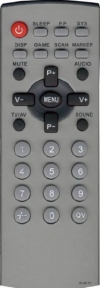 Пульт RC-05-51 корпус как у PANASONIC EUR7717010 для телевизора ПОЛАР