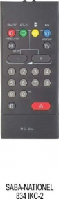 Пульт RC834 для телевизора SABA SONY