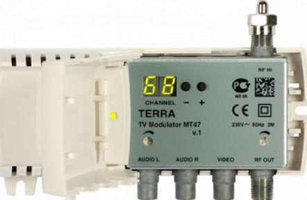Модулятор Terra МТ-47, 1-69k, 220v/200mA