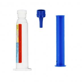 Флюс-гель для трудно паяемых материалов в шприце 150-300С 12мл.