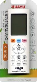 Пульт универсальный HUAYU K-6100 для кондиционера